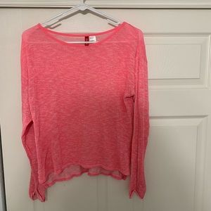 Pink H&M Light Weight Sweater